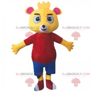 Maskot charakter medvídka - Redbrokoly.com