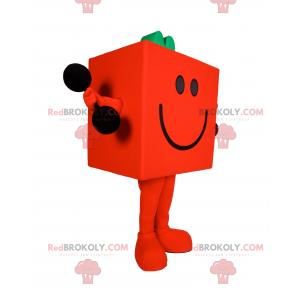 Mascot character Mr. Madam - Mr. Strong - Redbrokoly.com