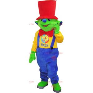Kleines Oger-Maskottchen mit rotem Hut - Redbrokoly.com