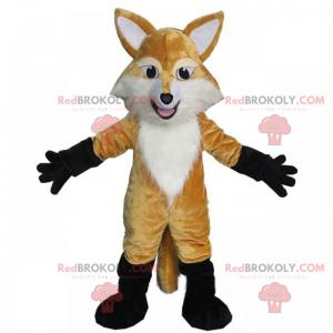 Maskot malá světle hnědá liška - Redbrokoly.com