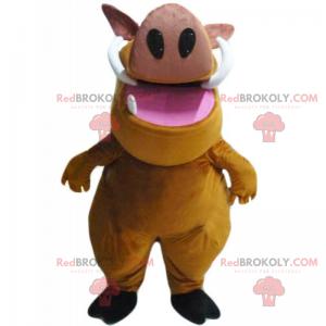 Maskot Pumba - Redbrokoly.com