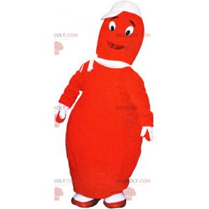 Oranžový bowling maskot - Redbrokoly.com