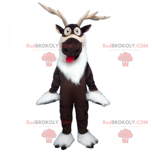 Reindeer mascot - Redbrokoly.com