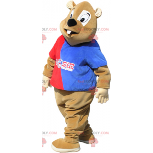 Sluneční maskot ve sportovním oblečení - Redbrokoly.com
