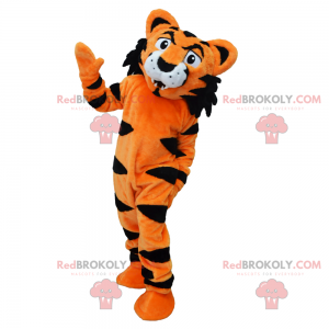Tiger mascot - Redbrokoly.com