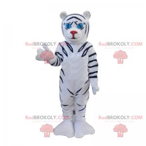 Bílý a černý tygr maskot - Redbrokoly.com