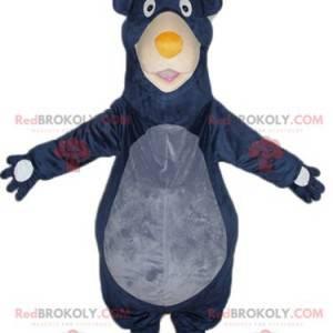 Baloo mascot famous bear from the jungle book - Redbrokoly.com