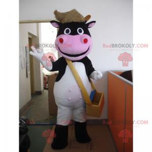 Handyman cow mascot - Redbrokoly.com
