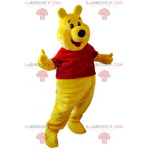 Mascote do ursinho Pooh - Redbrokoly.com