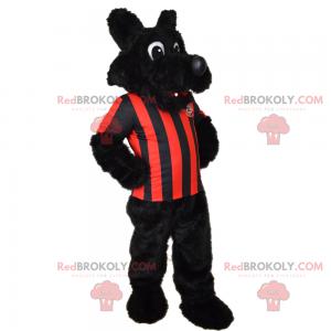 Jorkšírský maskot v fotbalové vybavení - Redbrokoly.com