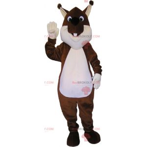 Mascotte bruine eekhoorn - Redbrokoly.com