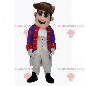 18th century officer mascot - Redbrokoly.com