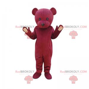 Pink bear mascot - Redbrokoly.com
