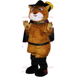 Katzenmaskottchenstiefel mit Umhang - Redbrokoly.com
