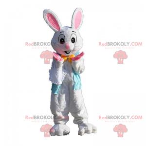 Mascotte di coniglio con orecchie rosa - Redbrokoly.com
