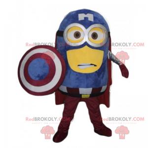Maskot Minion - Captain America - Redbrokoly.com
