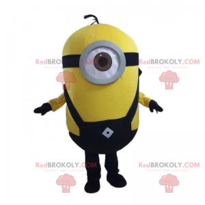 Maskot Minion Stuart - černé kombinézy - Redbrokoly.com