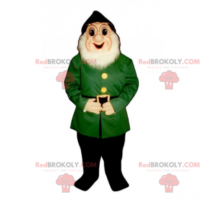 Maskot zahradní gnome - Redbrokoly.com