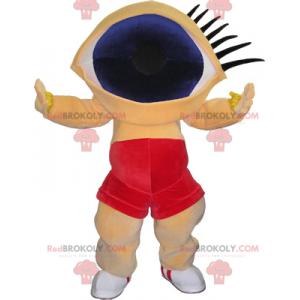 Modré oko maskot - Redbrokoly.com
