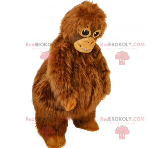 Orang-Utan-Maskottchen - Redbrokoly.com