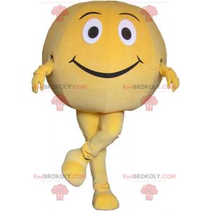 Grapefruitový maskot s úsměvem - Redbrokoly.com