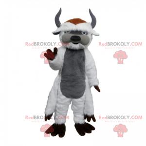 Mascota personaje de dibujo animado - Cabra - Redbrokoly.com