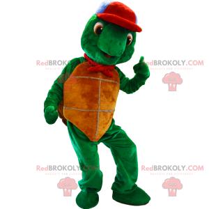 Mascota personaje de dibujo animado - Franklin la tortuga -