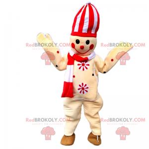 Mascot karakter høytid - Candy bygg mann - Redbrokoly.com