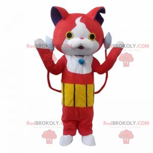 Video game person mascot - Cat - Redbrokoly.com