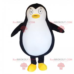 Malý maskot tučňáka s velkýma očima - Redbrokoly.com