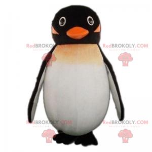 Malý maskot tučňáka s úsměvem - Redbrokoly.com