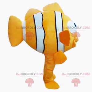 Mascote Peixe Palhaço - Redbrokoly.com