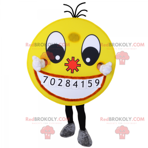 Smiley mascot - Redbrokoly.com