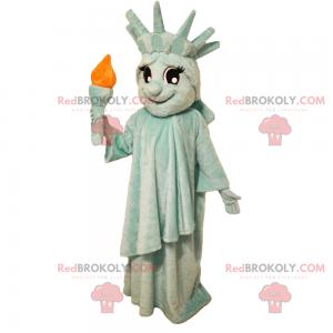 Maskot statutu svobody - Redbrokoly.com