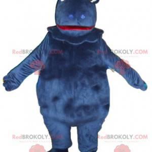 Mascot Casimir famous blue dinosaur - Redbrokoly.com