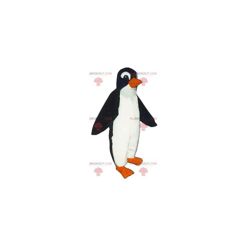 Bardzo realistyczna maskotka pingwina pingwina - Redbrokoly.com
