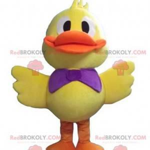 Mascot big yellow and orange duck chick - Redbrokoly.com