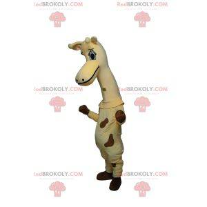 Mascota jirafa muy linda con hermosos ojos