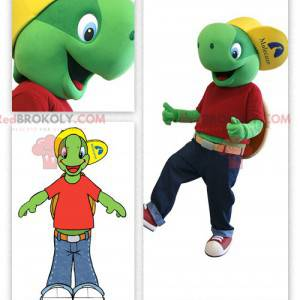 Franklin, słynna kreskówka maskotka żółwia - Redbrokoly.com