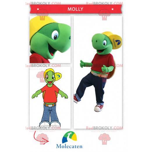 Franklin the famous cartoon turtle mascot - Redbrokoly.com