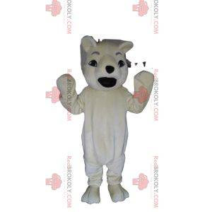 Very sweet polar bear mascot