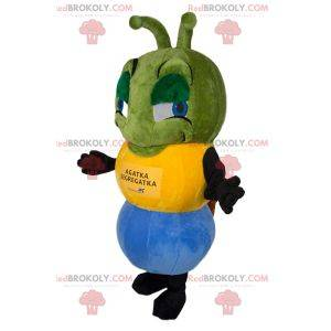 Tricolor maur maskot