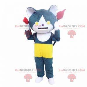 Mascot karaktertegning anime - Cat