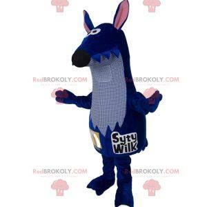 Blue rat mascot