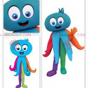 Olbrzymia niebieska maskotka ośmiornicy - Redbrokoly.com