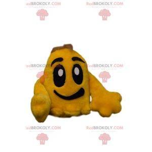 Character mascot - Little yellow cloud