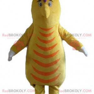 Žluté a oranžové bramborové maskoty ptáků - Redbrokoly.com