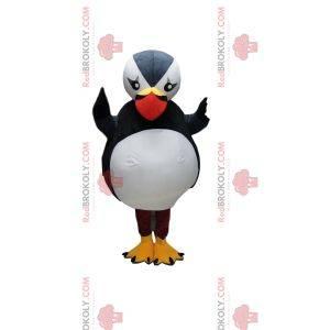 Majestic puffin mascot. Puffin costume