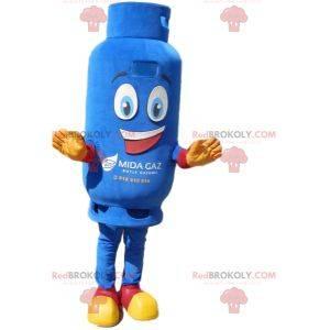Gas cylinder mascot