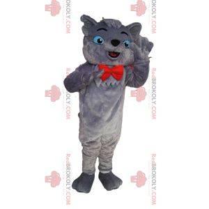 Maskot Berlioz, slavná šedá kočka Aristocats